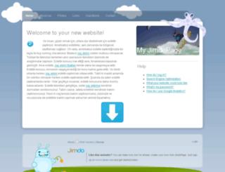sacekimi.jimdo.com screenshot