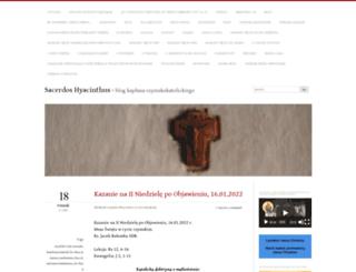 sacerdoshyacinthus.com screenshot