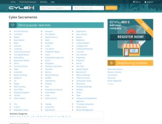 sacramento.cylex-usa.com screenshot