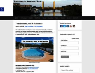 sacramentoappraisalblog.com screenshot