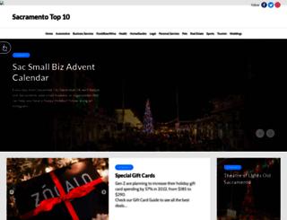 sacramentotop10.com screenshot