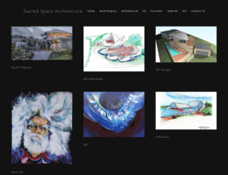 sacredarchitecture.com.au screenshot
