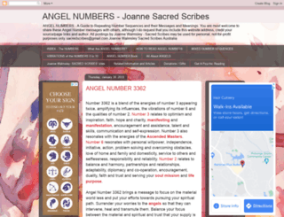 sacredscribesangelnumbers.blogspot.sn screenshot