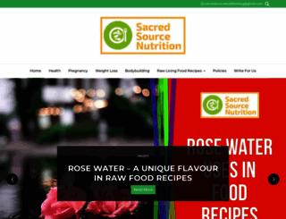 sacredsourcenutrition.com screenshot