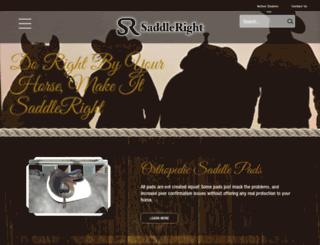 saddleright.com screenshot