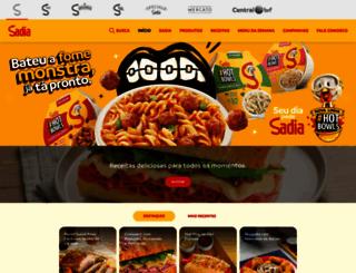 sadia.com.br screenshot