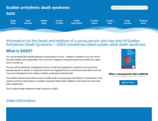 sads.org.uk screenshot