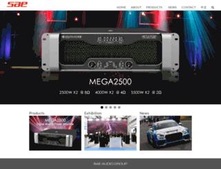 saeaudio.com screenshot