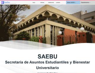saebu.unsl.edu.ar screenshot