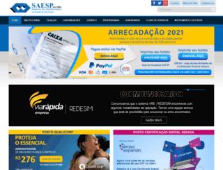 saesp-sp.com.br screenshot