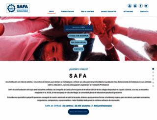 safa.edu screenshot