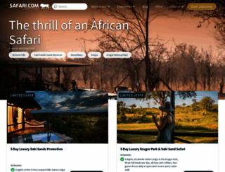 safari.com screenshot