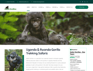 safarigorillas.com screenshot