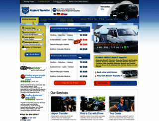 safeairporttransfer.com screenshot