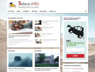 safecar.info screenshot