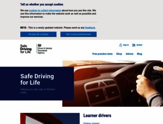 safedrivingforlife.info screenshot
