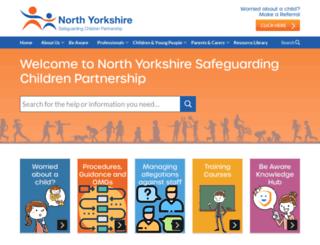 safeguardingchildren.co.uk screenshot