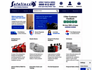safelincs.co.uk screenshot