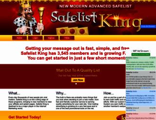 safelistking.com screenshot