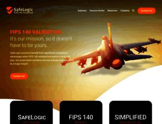 safelogic.com screenshot