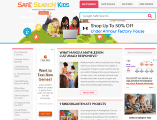 safesearchkids.com screenshot