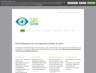 safesolutions.at screenshot