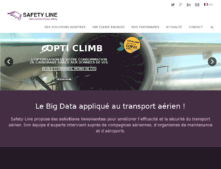 safety-line.fr screenshot