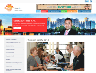 safety2014.org screenshot