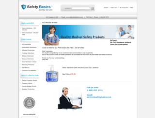 safetybasics.com screenshot