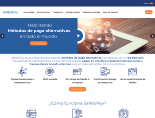 safetypay.com.co screenshot