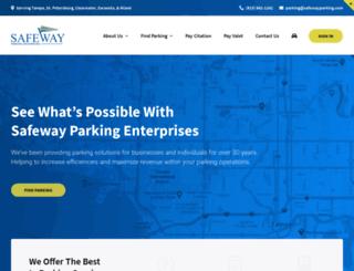 safewayparking.com screenshot