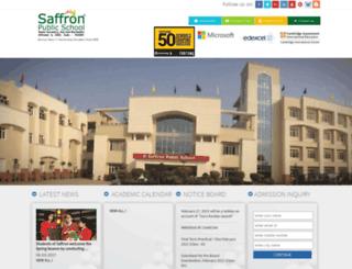 saffronschool.com screenshot