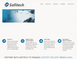 safitech.com screenshot