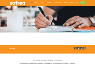 safrea.co.za screenshot