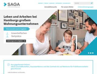 saga-gwg.de screenshot