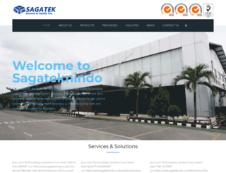sagateknindo.co.id screenshot