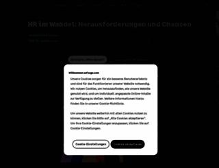 sage.de screenshot