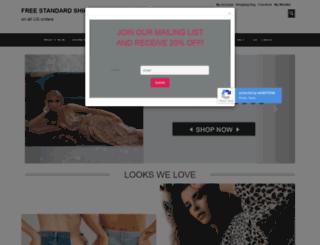 sageclothing.com screenshot