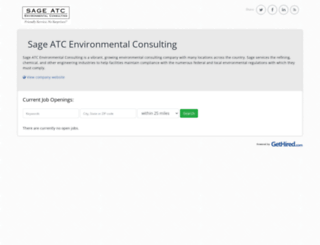 sageenvironmentalconsultinglp.gethired.com screenshot