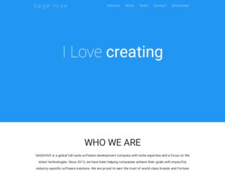 sagehive.com screenshot