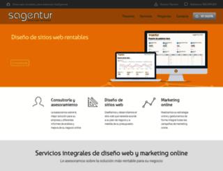 sagentur.com screenshot