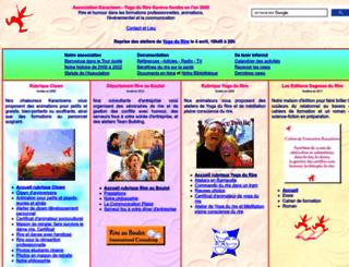 sagessedurire.org screenshot