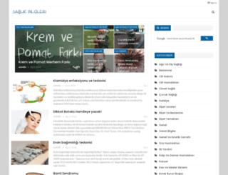 saglikbilgileri.org screenshot