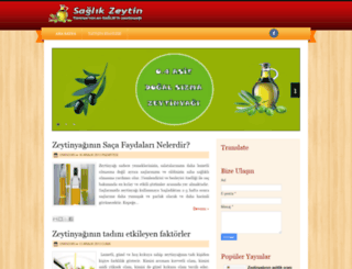 saglikzeytin.blogspot.com screenshot