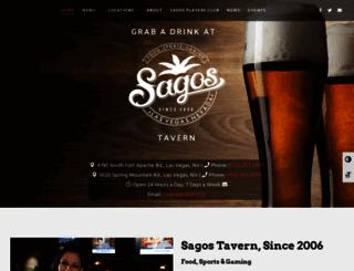 sagostavern.com screenshot