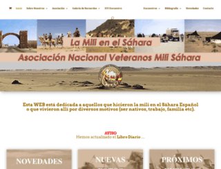 sahara-mili.net screenshot