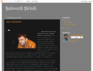 sahverdisirinli.blogspot.com screenshot