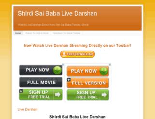 saibabalivedarshan.blogspot.in screenshot