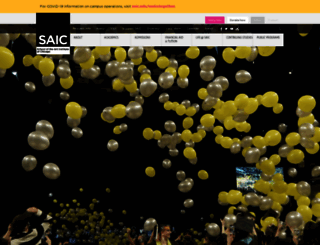 saic.edu screenshot