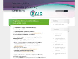 saidedomex.wordpress.com screenshot